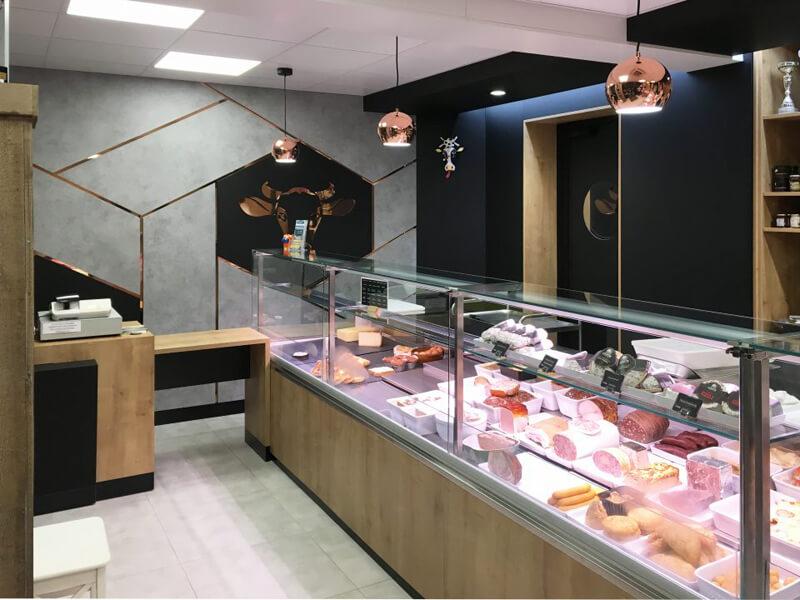 Agencement boucherie Torigny-les-villes