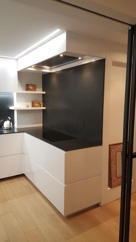Crédence et plans de travail pour une cuisine d'un particulier