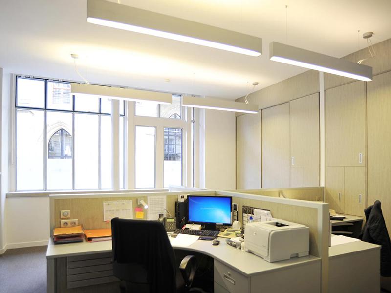 Agencement de bureaux à Paris