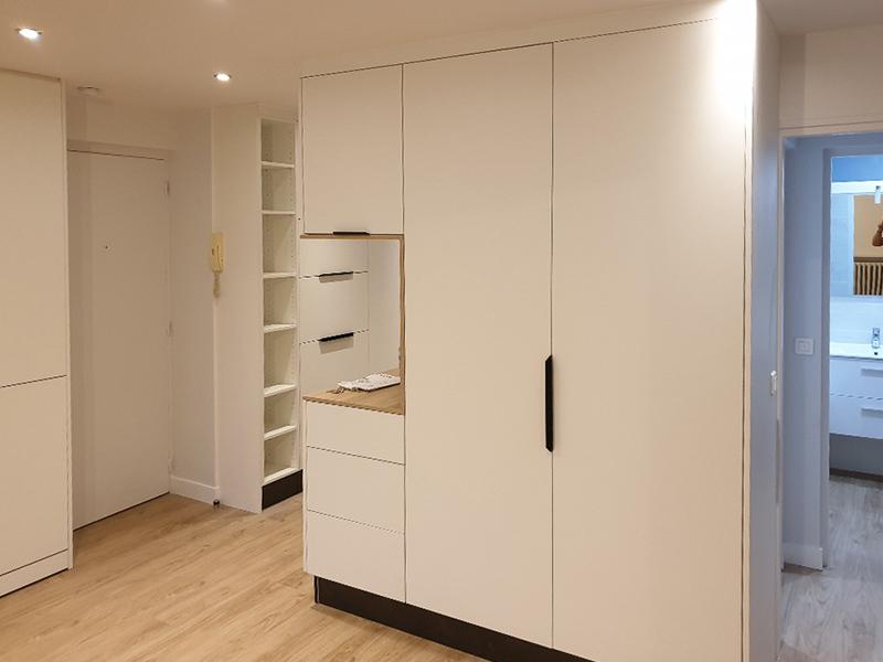 Optimisation du hall d'entrée d'un appartement de type F3