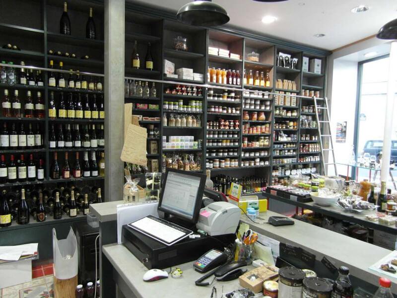 Comptoir de vente épicerie fine à Paris