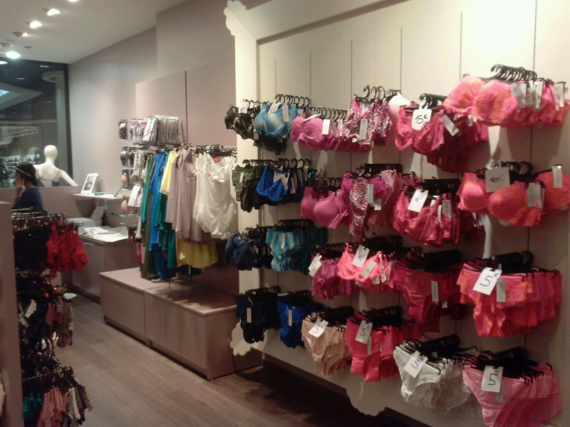 Merchandising des sous-vêtements