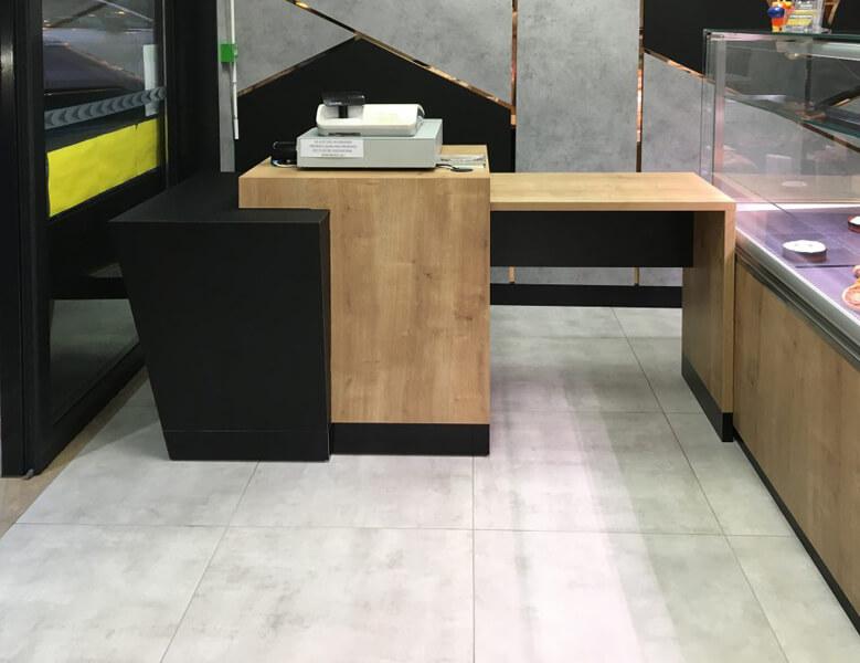 Comptoir de vente boucherie Torigny-les-villes