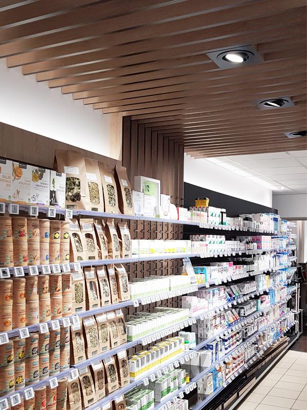 Agencement d'une pharmacie à Bayeux
