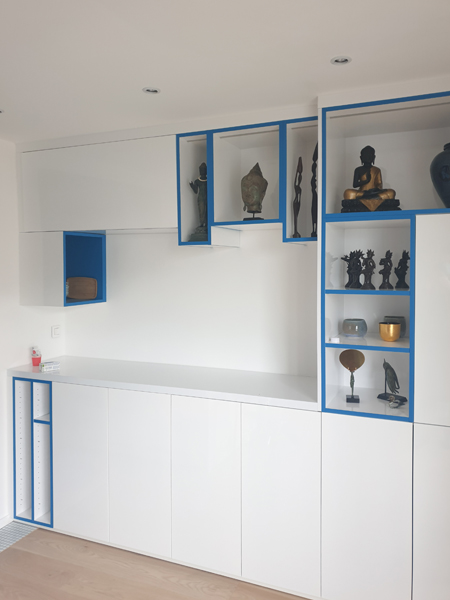 Aménagement intérieur appartement Buttes-Chaumont