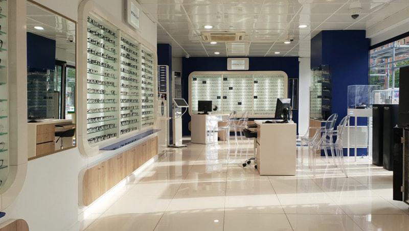Agencement d'un magasin d'optique pour apporter un maximum d'attractivité à l'enseigne