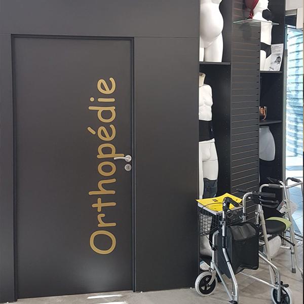 Agencement espace orthopédie