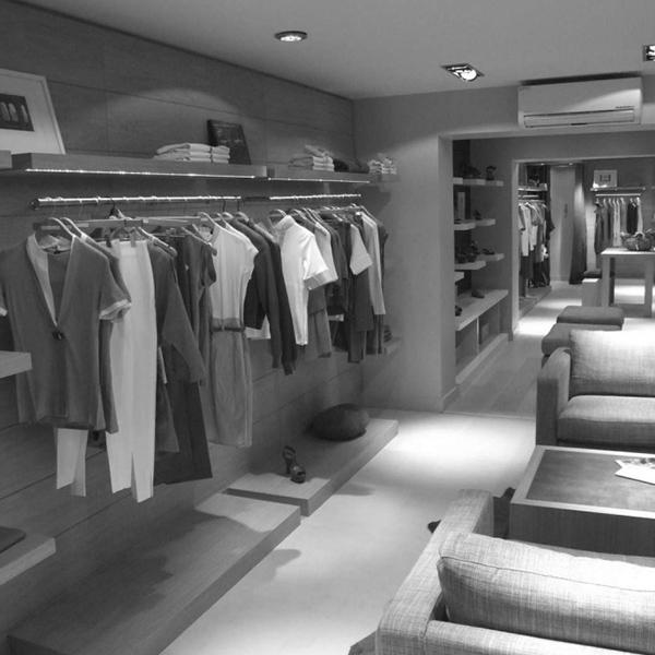 agencement magasin de vêtements