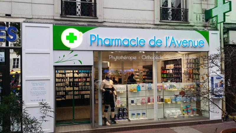 Signalétique extérieur pharmacie