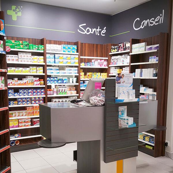 Rénovation d'une pharmacie à Argentan