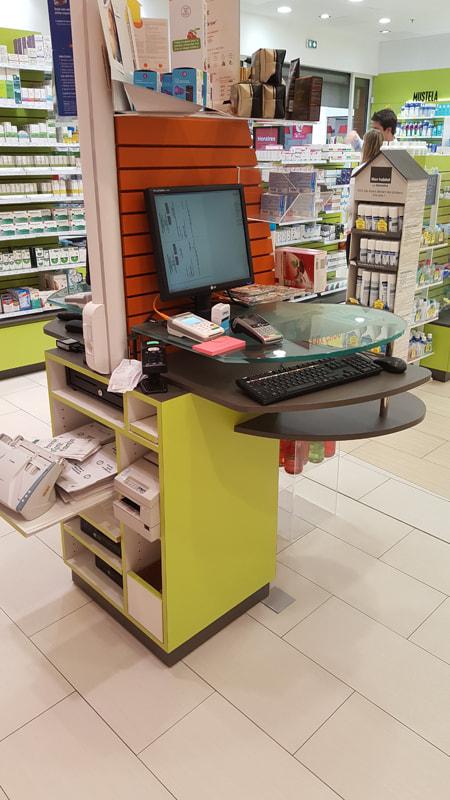 Agencement d'une pharmacie à La Chapelle-sur-Erdre