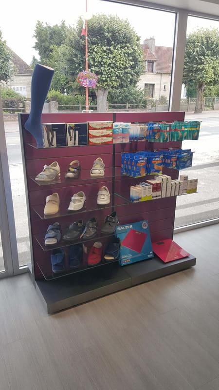 Aménagement d'une pharmacie à May-sur-Orne procédé Technolam