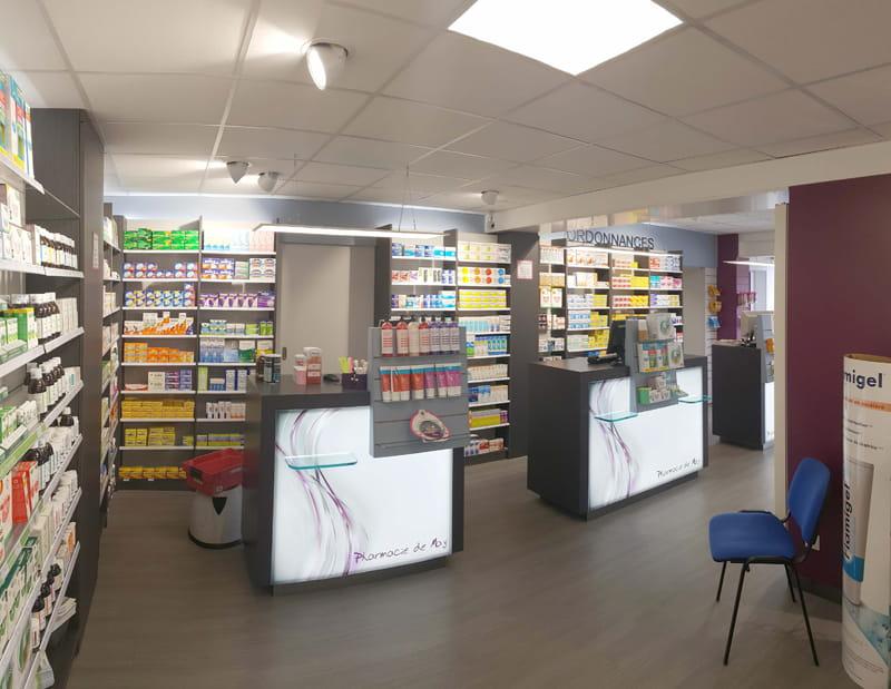 Aménagement d'une pharmacie à May-sur-Orne optimisation de la surface de vente et d'accueil