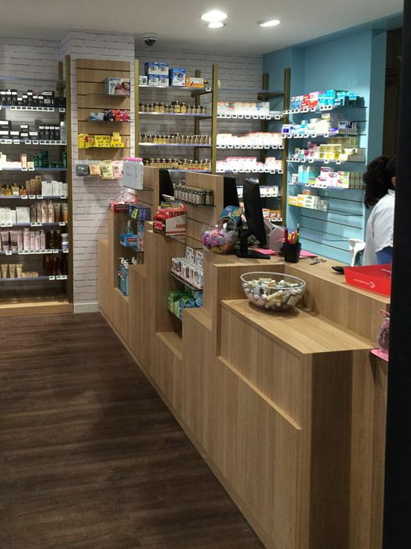 Comptoirs de pharmacie Paris