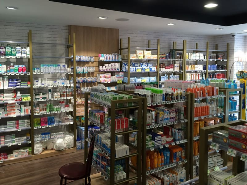 Agencement pharmacie Paris