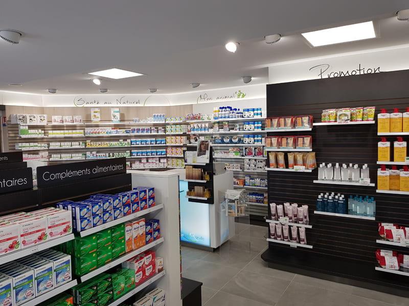Rayonnage pharmacie Calvados