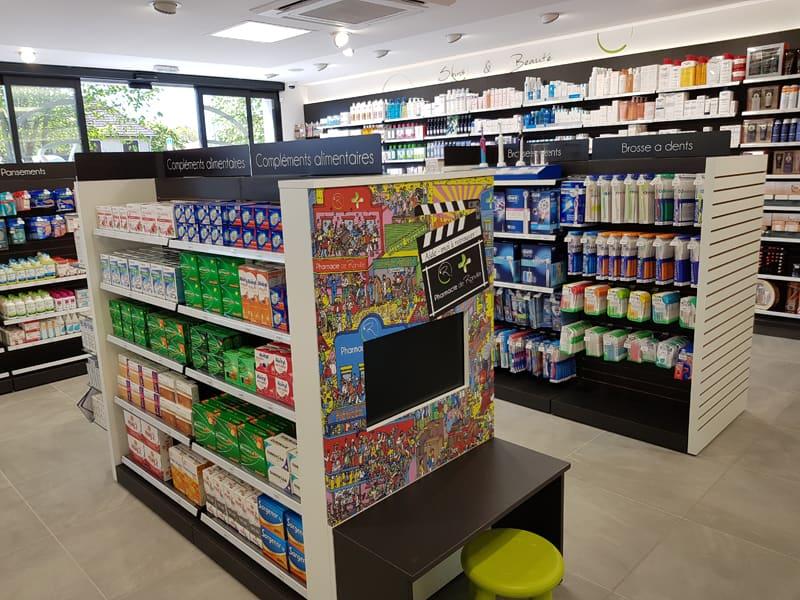 Espace enfants pharmacie Ranville