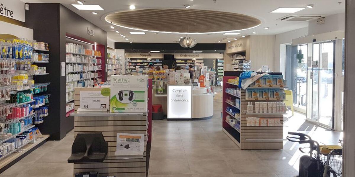 Agencement pharmacie Vendée