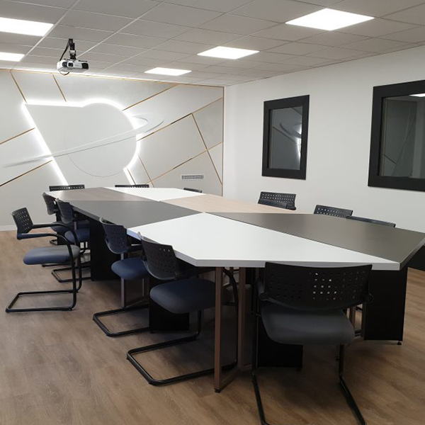 Agencement du centre de développement Portalp en Isère