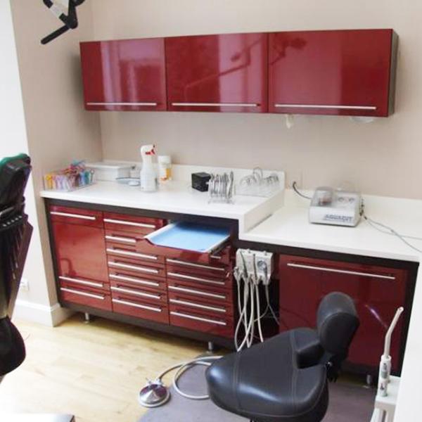 Aménagement d'un cabinet dentaire à Lisieux