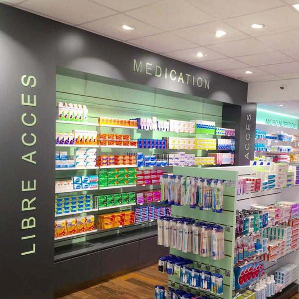 Aménagement pharmacie Le Havre