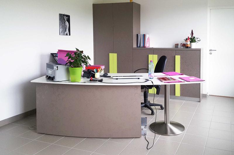 Aménagement d'une agence Portalp à Nantes