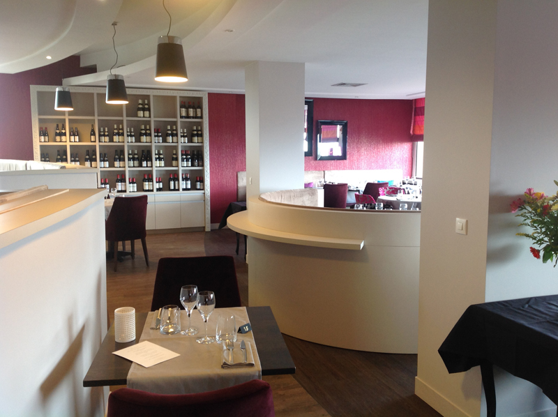 Aménagement d'un hôtel-restaurant à Saint-Aubin-sur-Mer