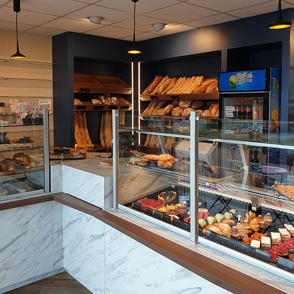 Agencement d'une boulangerie à Blainville-sur-Orne