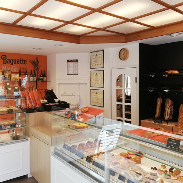 Agencement d'une boulangerie dans l'Orne
