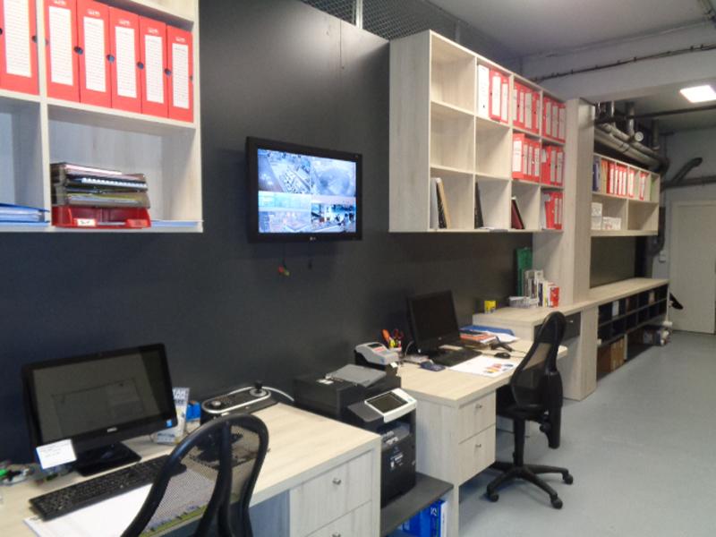 Agencement bureaux mémorial de Caen