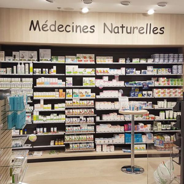Etagères médecines naturelles