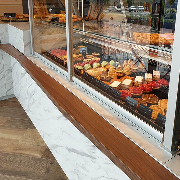 Fintions vitrines patisserie