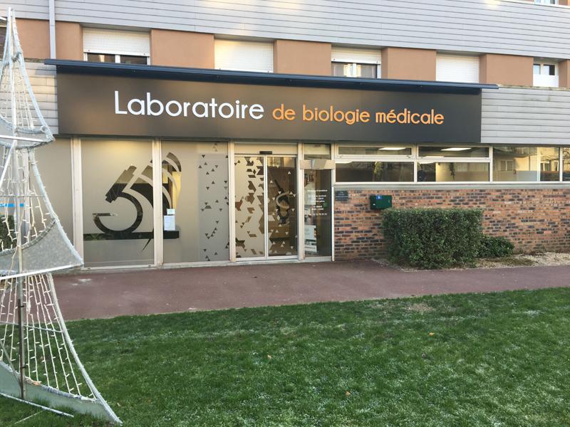 Rénovation d'un laboratoire de biologie médicale à Ifs