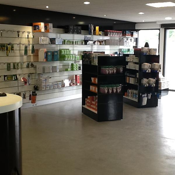 Agencement d'un magasin à Coutances
