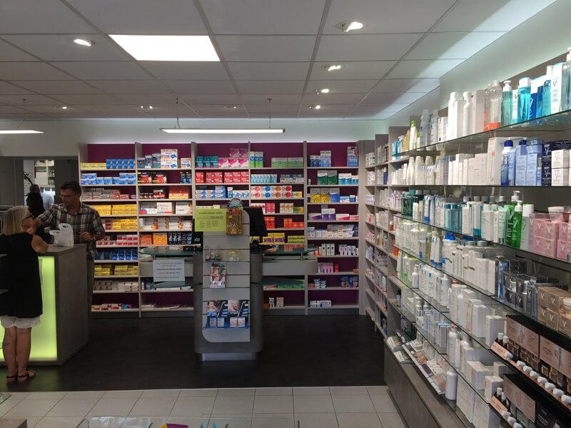 Relamping de la pharmacie de Merville-Franceville