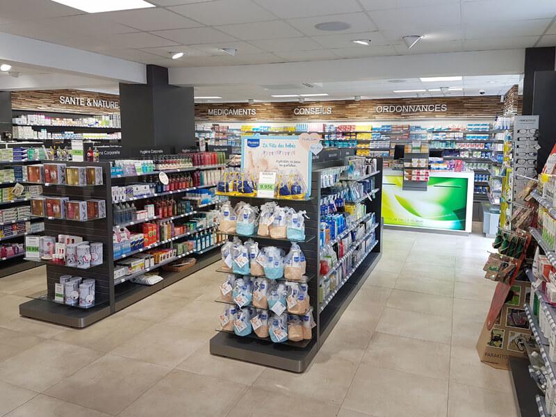 Optimsation de la surface de vente et des flux de circulation dans une pharmacie