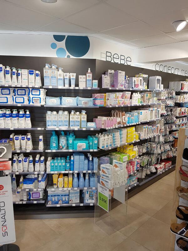 Création d'un espace Bébé dans une pharmacie du Calvados