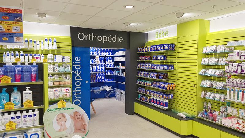 Créatrion d'une zone orthopédie