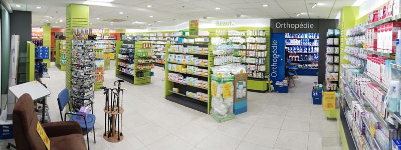 Qualité et design du mobilier pour pharmacie Saint-Nicolas-de-Redon