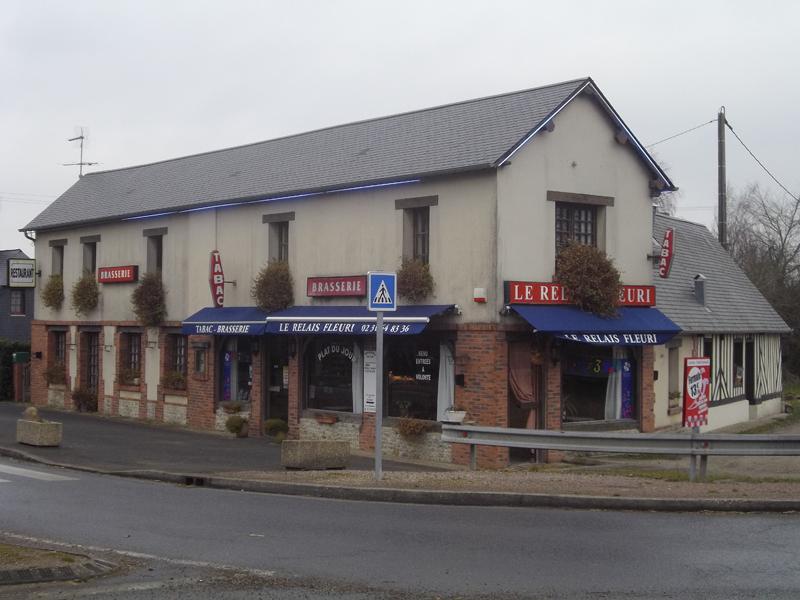 Réhabilitation d'une boulangerie à Annebault