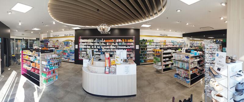 Présentoirs pharmacie à Fontenay-le-Comte