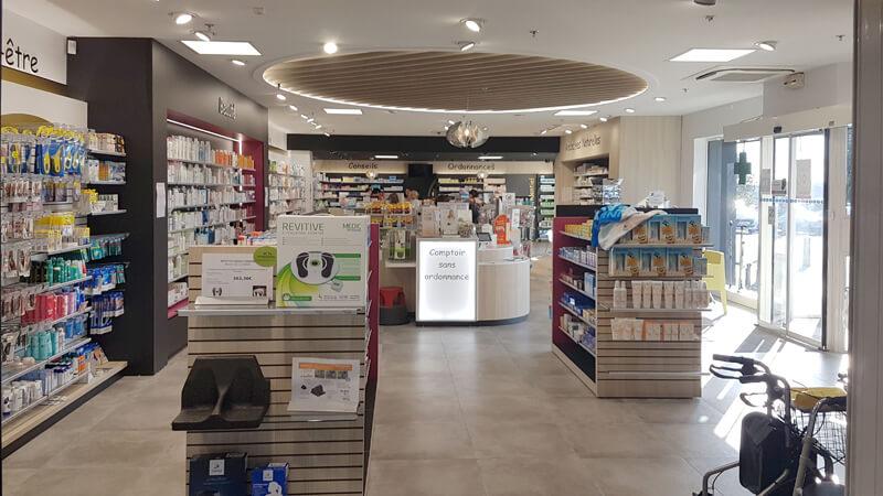 Relamping pharmacie à Fontenay-le-Comte