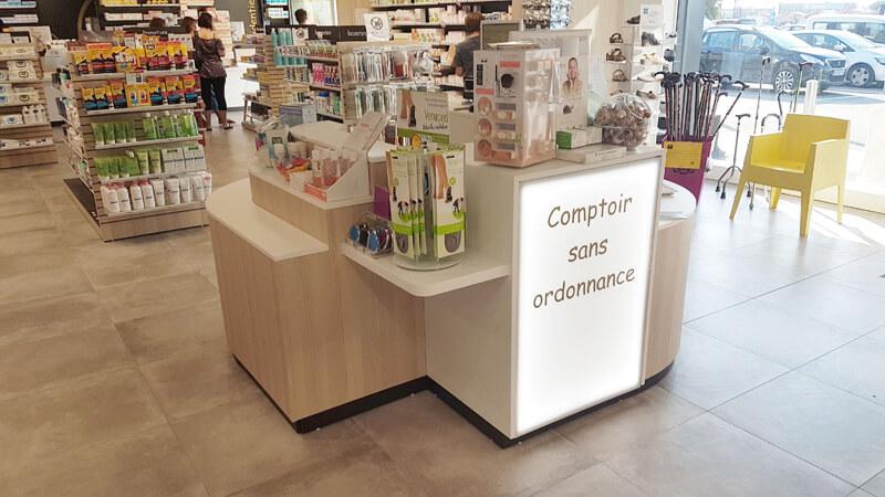 Comptoir sans ordonnance pharmacie à Fontenay-le-Comte