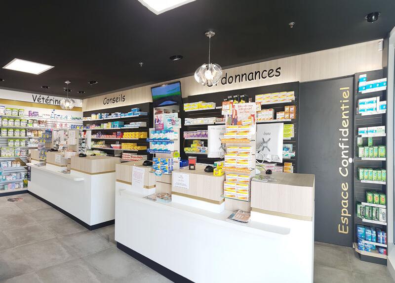 Comptoirs de vente pharmacie Fontenay-le-Comte