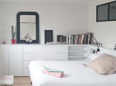 Aménagement d'un appartement aux Buttes-Chaumont (Paris 19e)