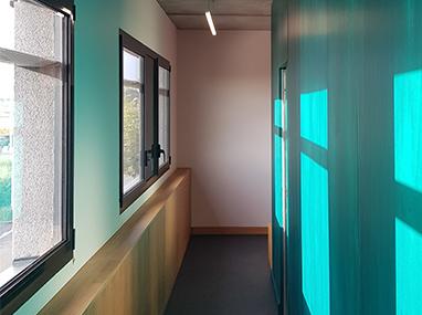 Aménagement d'un cabinet d'ophtalmologie en périphérie de Caen