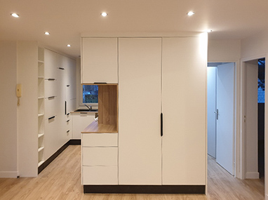 Rénovation d'un appartement dédié à la location au Chesnay