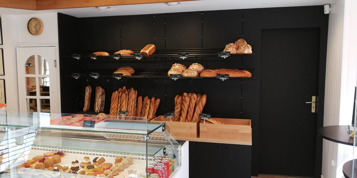 Conception et fabrication de présentoirs à pains
