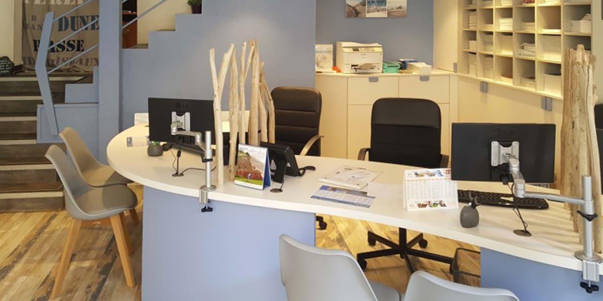 Création d'un bureau sur-mesure pour une agence de voyages